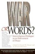 War Or Words? Paperback