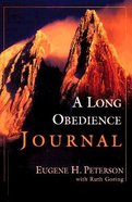 A Long Obedience in the Same Direction (Journal) Paperback
