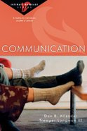 Communication (Intimate Marriage Series) Paperback