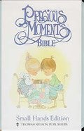 NKJV Precious Moments Small Hands Edition Blue Mist Imitation Leather