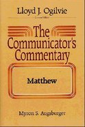 Matthew (#01 in Communicator's Commentary New Testament Series) Hardback