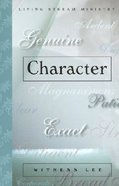 Character Paperback