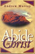 Abide in Christ Paperback