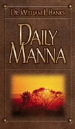 Daily Manna Hardback
