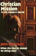 Christian Mission in Modern World Paperback