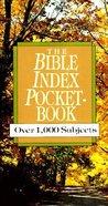 The Bible Index Pocketbook