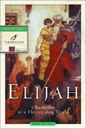 Elijah: Obedience in a Threatening World (Fisherman Bible Studyguide Series) Paperback