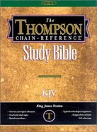 KJV Thompson Chain Reference Handy Size Black (Red Letter Edition)