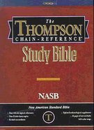 NASB Thompson Chain Reference Study Hardback