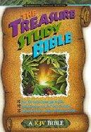 KJV Treasure Study Bibles For Kids Paperback