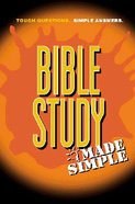 Made Simple: Bible Study Made Simple Paperback