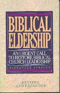 Biblical Eldership (1995) Paperback