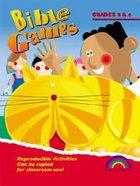 Bible Games: Grades 3&4 (Reproducible) Paperback