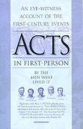 Acts in First-Person Paperback