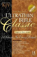 KJV Ultrathin Classic With Magnetic Closure Burgundy Indexed
