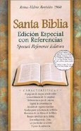 Biblia Edicion Especial Con Referencias Rvr Rojizo Edicion ) (Special Reference Burgundy (Black Letter Edition) Bonded Leather