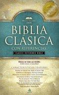 Santa Biblia Reina-Valera 1909 Reference Negro Spanish Reina-Valera Translation Reference Black (Red Letter Edition) Imitation Leather