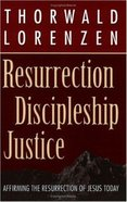 Resurrection, Discipleship, Justice Paperback