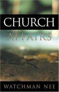 Church Affairs Paperback