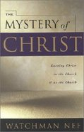 The Mystery of Christ Paperback