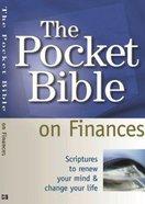 The Pocket Bible on Finances Paperback