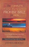 The Complete Personalized Promise Bible For Men Hardback