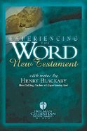 HCSB Experiencing the Word New Testament With Study Notes Hardback