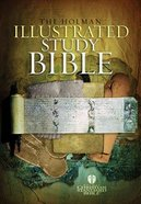 HCSB Illustrated Study Bible Indexed Hardback