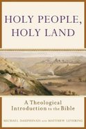 Holy People, Holy Land Paperback