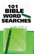 101 Bible Word Searches Volume 2 Paperback