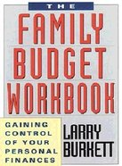 The Family Budget Workbook Paperback