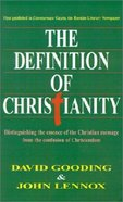 The Definition of Christianity Paperback