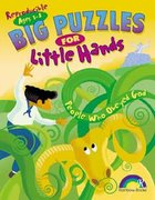 Big Puzzles For Little Hands: People Who Obeyed God (Reproducible) Paperback
