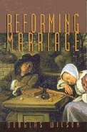 Reforming Marriage Paperback