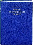 Greek New Testament Nestle-Aland 27Th Edition Blue