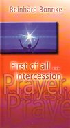 First of All Intercession (Booklet) Booklet