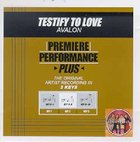 Testify to Love (Accompaniment)