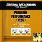 Gloria (Accompaniment) (All God's Children)