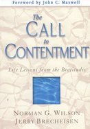 The Call to Contentment Hardback