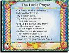 Wall Chart: Lord's Prayer-Debts (Laminated) Chart/card