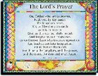 Wall Chart: Lord's Prayer-Trespasses Poster