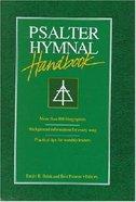Psalter Hymnal Handbook Hardback