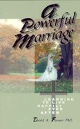 A Powerful Marriage Paperback