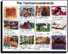 Wall Chart: Ten Commandments (Laminated) (Niv)