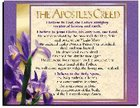 Wall Chart: Apostles' Creed (Laminated) Poster