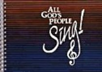 All Gods People Sing! (Accompaniment) (Music Book)