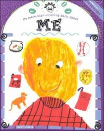 My More-Than-Coloring Book About Me (My More-than-colouring Book Series)