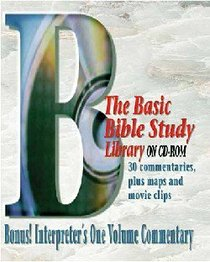 Basic Bible Study Library on CDROM