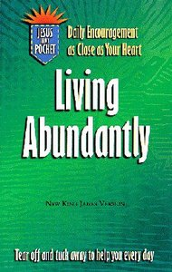 Jesus in My Pocket: Living Abundantly
