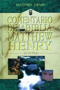 Comentario De La Biblia Matthew Henry (Matthew Henry Commentary)